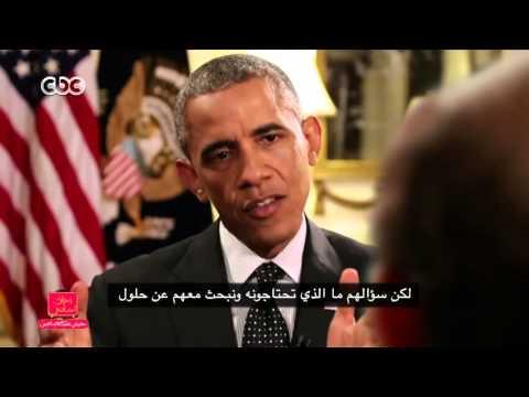 محمد صبحي يُحرج أوباما في حوار تخيلي بينهما