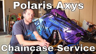 8. HOW TO: Polaris Axys Chaincase Service