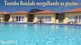 TONINHO BONDADE MERGULHANDO NA PISCINA - ASSISTA!!!