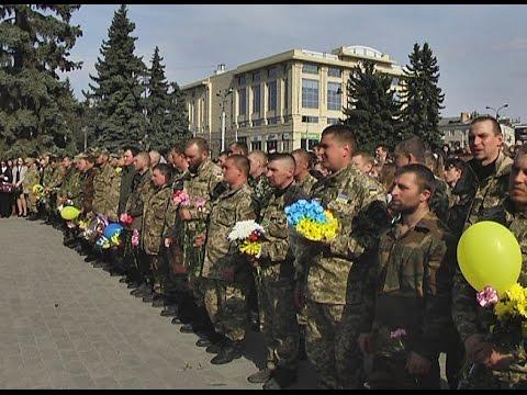 На Волинь повернулося сімдесят військовослужбовців 14-ї окремої механізованої бригади