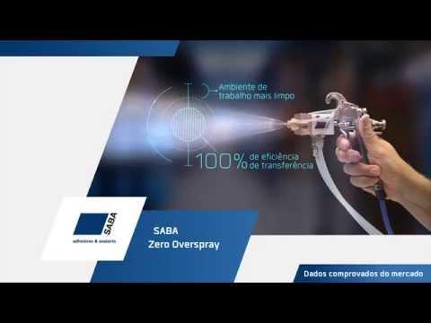 SABA Zero Overspray  | Tecnologia Inovadora