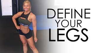 FREE pdf - How Actors Get Shreddedhttp://www.criticalbench.com/shredded/Unlock Your TIGHT Hip Flexors - #1 Hips Program http://www.criticalbench.com/growth/psoas/Subscribe to Our Channel:http://www.youtube.com/subscription_center?add_user=criticalbenchNPC Bikini Competitor Amanda Lynn McDowell joined Critical Bench to show her posing skills AND talk a little about the importance of the Teardrop Muscle on the leg.The teardrop muscle or Vastus Medialis sits just above the knee on the inside of the leg.  On bodybuilders, this muscle can be very developed and looks like a tear drop, thus the name.This muscle is a knee extender and knee stabilizer.  True, you can target it well on the leg extension machine BUT since it's job is extending and locking the leg as well as stabilizing the knee, it is wise to do other movements to best engage it.See what some of those exercises are in this video with Amanda Lynn demonstrating them all....