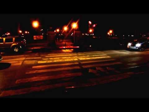 Светящийся пешеходный переход
