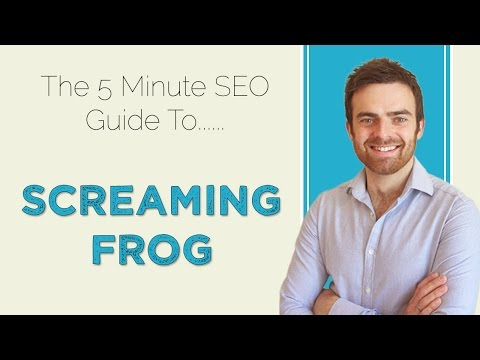 SEO | Using Screaming Frog Spider Tool