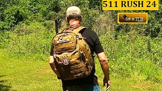 511 RUSH 24 Back Pack Review. The RUSH Backpack series is one of the most popular bags on the market and for good reason.  511 Tactical :   http://www.511tactical.com/  Be a Team Sootch Minuteman: https://www.patreon.com/Sootch00Sootch00 Gear available at: https://teespring.com/Sootch00Thanks For Watching, Liking & Subscribing! ~ Sootch00Music is from Jingle Punks Royalty Free Music through the Fullscreen Network. Used with permission.