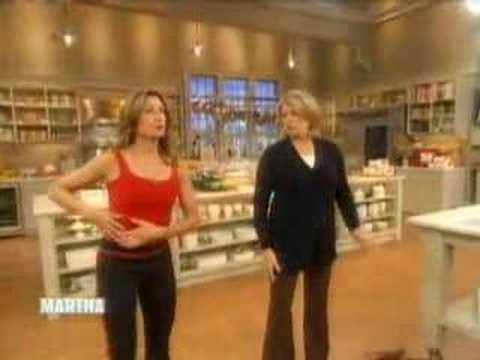 Mary Tedesco Exercises, Part II | Martha Stewart