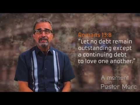 "A Moment with Pastor Marc #62<br /><strong>""Spending""</strong>"