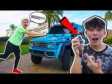 I STOLE HIS G-WAGON... **FREAKOUT** (ft. Stephen Sharer)   DONLAD
