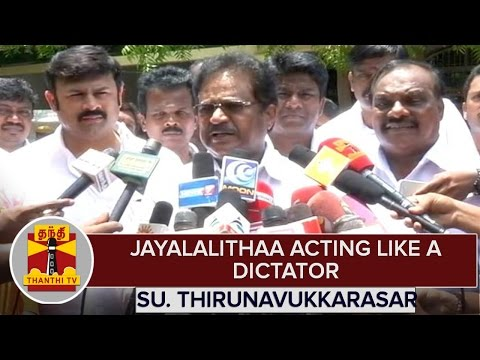 TN-Elections-2016--Jayalalithaa-Acting-Like-A-Dictator--Su-Thirunavukkarasar-Congress