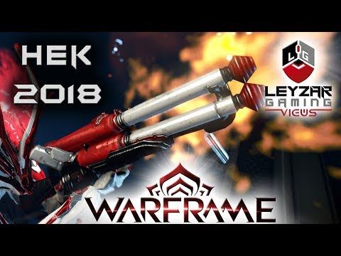 Hek Build 2018 (Guide) - The Beginner Shotgun (Warframe Gameplay)
