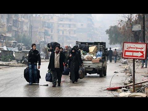 Σίγησαν τα όπλα στο ανατολικό Χαλέπι