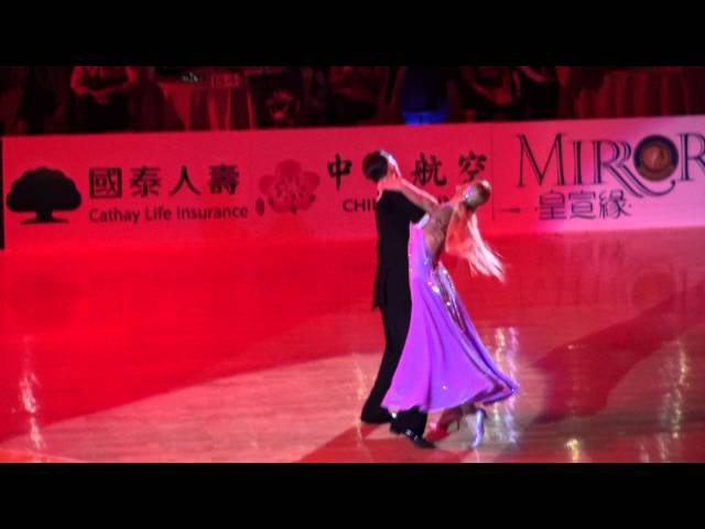 Arunas Bizokas & Katusha Demidova - Viennese Waltz 2016 Taiwan world super star show (Standard International)