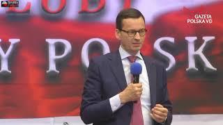 Morawiecki straszy opozycją i strasznymi wrogami Polski.