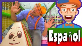 Blippi Español Juega y Aprende en el Parque de Juegos | Aprende los Colores