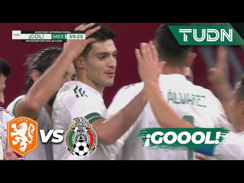 ¡GOOOL! ¡Gol de Raúl Jiménez! | Holanda 0-1 México | Amistoso 2020 | TUDN