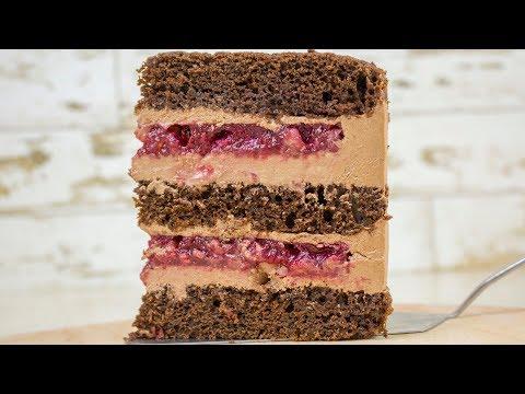 Готовлю торт себе на ДР🎉 с шоколадным кремом-чиз🍫 - Я - ТОРТодел - DomaVideo.Ru