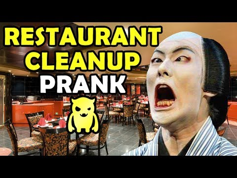 Asian Restaurant Cleanup Prank – Ownage Pranks