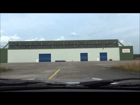 Flugplatzrunde auf dem ehemaligen Flugplatz des MFG 2