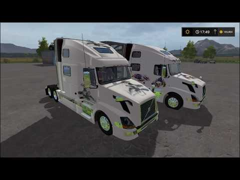 Volvo 780 Eagle Truck Pack v1.0