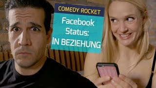 """Ändert man nach dem ersten Date schon seinen Beziehungsstatus bei Facebook auf """"In einer Beziehung""""? Was denkt ihr?mit Pia Stutzenstein und Daniele Rizzo--------------------------------------------------------------------------------------------YouTube: http://bit.ly/1MHbwekFacebook: https://www.facebook.com/COMEDYROCKETTwitter: https://twitter.com/COMEDY_ROCKETSnapchat: ComedyRocketInstagram: http://instagram.com/comedy_rocketOffizielle Website: http://www.comedyrocket.de--------------------------------------------------------------------------------------------"""