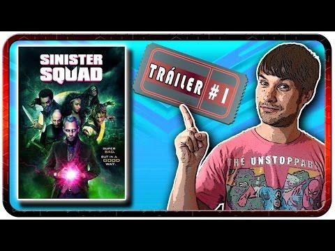 Pelicula SINISTER SQUAD 2016 II trailer SINISTER SQUAD mockbuster