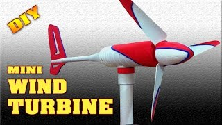 Homemade mini wind turbine for school students and Teachers. This demonstration video uses simple components and is intended to be used for a school science projects. Components used are pvc pipe & fittings, plastic bottle & styrofoam The music and special effects are royalty free.Video Title: Mini Wind Turbine Homemade DIY How to make free energy generator Small Wind MillVideo Link: http://youtu.be/l1ZogoE5P84Our Social Media:Youtube Subscribe here: http://www.youtube.com/channel/UCCa6fqc9c8wdzjgg55Fe30wFacebook Link: http://www.facebook.com/scientificthemes/?ref=bookmarksGoogle Plus: http://plus.google.com/114591819226313316682Please SUBSCRIBE