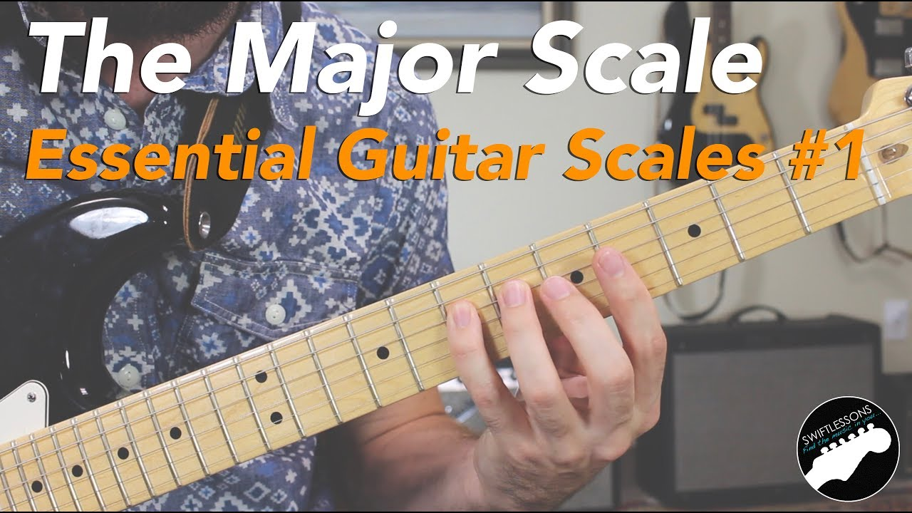 How to Play the Major Scale – Essential Guitar Scales Lesson #1