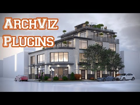 3Ds Max Plugins for Architecture