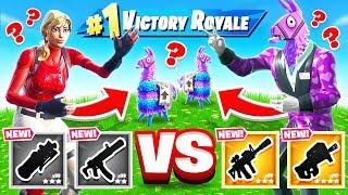 ROCK Paper LLAMA *NEW* Game Mode in Fortnite Battle Royale
