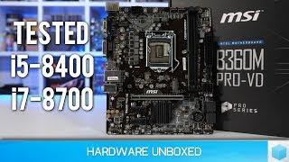 Intel B360 vs. Z370, FINALLY Budget 300-series Chipsets!