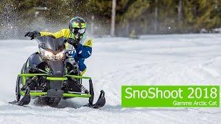 10. SnoShoot 2018 Gamme Arctic Cat