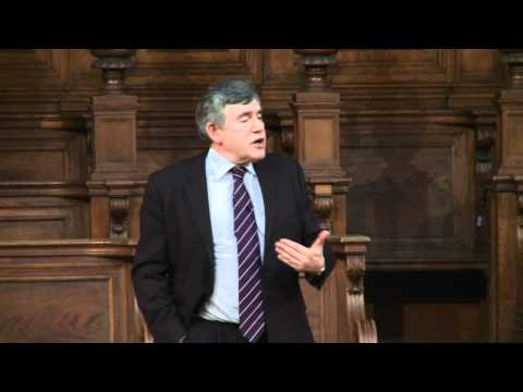 Gordon Brown - Former Prime Minister Gordon Brown returns to his former university to give a talk on economics. The lecture argues that there is an alternative to a future ...