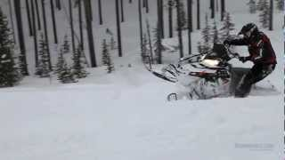 11. 2013 Polaris 800 Switchback Assault Snowmobile Review