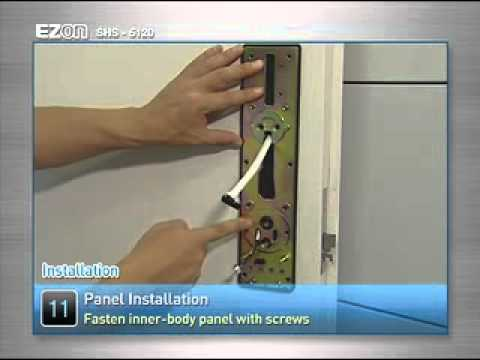 Samsung Ezon SHS-5120 Door Lock Installation And Configuration Video Guide