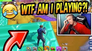 Tfue Plays FAKE Fortnite! (WINS HIS FIRST GAME!) Creative Destruction FUNNY & SAVAGE Moments!