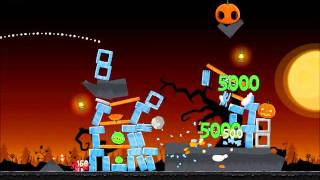 Angry Birds Seasons Walkthrough Trick or Treat 3-2