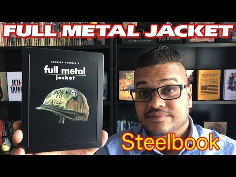 Steelbook Full Metal Jacket Présentation