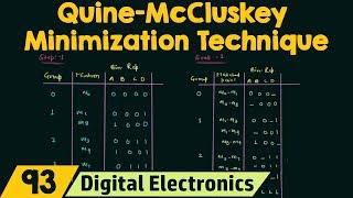 Video Quine-McCluskey Minimization Technique (Tabular Method) MP3, 3GP, MP4, WEBM, AVI, FLV Juli 2018
