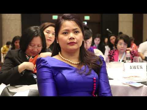 CWEA Asean Women Outstanding Award 2017 (Manila, Philipine) AWEN