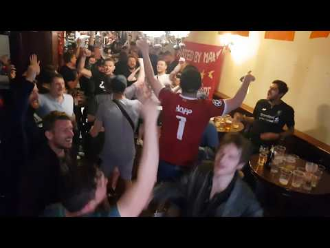 LFC Fans Singing In Porto Night Before Champions League Quarter Final
