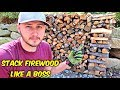 How to Stack Firewood Like a Boss?