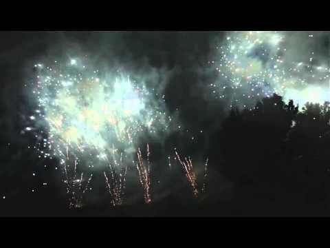 LUCCA SICULA (Agrigento) - PASQUA 2016 - LA ROSA Artist Fireworks