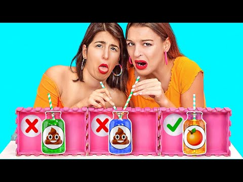 DON'T CHOOSE THE WRONG MYSTERY DRINK CHALLENGE! Funny Pranks By 123 GO! CHALLENGE