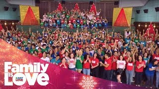 "ABS-CBN Christmas Station ID 2018 ""Family Is Love"""
