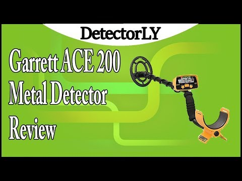 Garrett ACE 200 Metal Detector with Waterproof Search Coil and Headphones Review