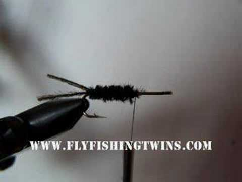How To Tie AN R. B Caddis Nymph