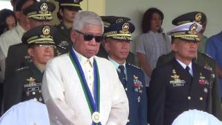 Outgoing DND chief Gazmin bids farewell to AFP