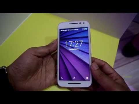 Motorola Moto G (3rd Gen) Hands-on Overview. Display, camera and specifications