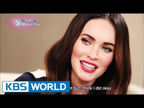 ENTERTAINMENT - Interview with Megan Fox - For more info: http://kbsworld.kbs.co.kr/programs/programs_intro.html?no=30 ----------------------------------------------------------------------------------...
