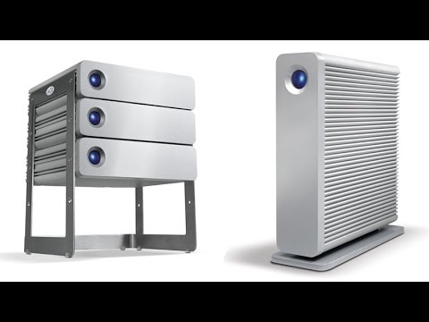 LaCie D2 Quadra V3 4TB External Hard Drive With USB 3.0 Connection and Two FireWire 800 Interfaces
